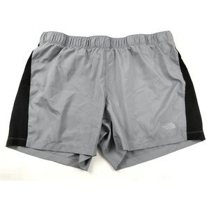 North Face Shorts XXL 5 Inch Gray Attached Liner